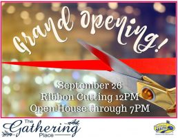 GRAND OPENING! Sept. 26
