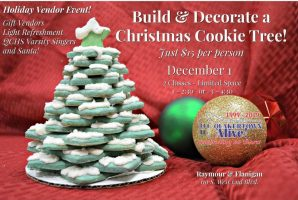 Build & Decorate a Christmas Cookie Tree