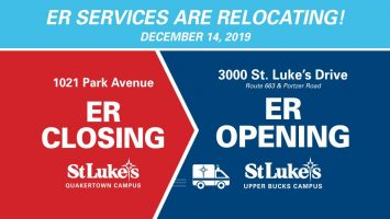 St. Luke's Upper Bucks ER Open