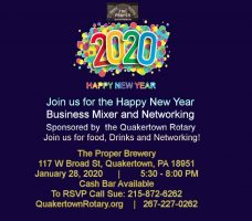 The Quakertown Rotary Business Mixer