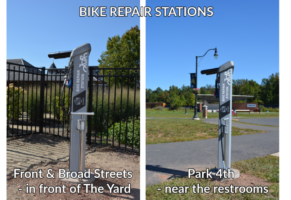 NEW Bike Repair Stations
