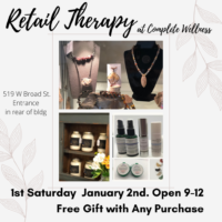 Retail Therapy at Complete Wellness